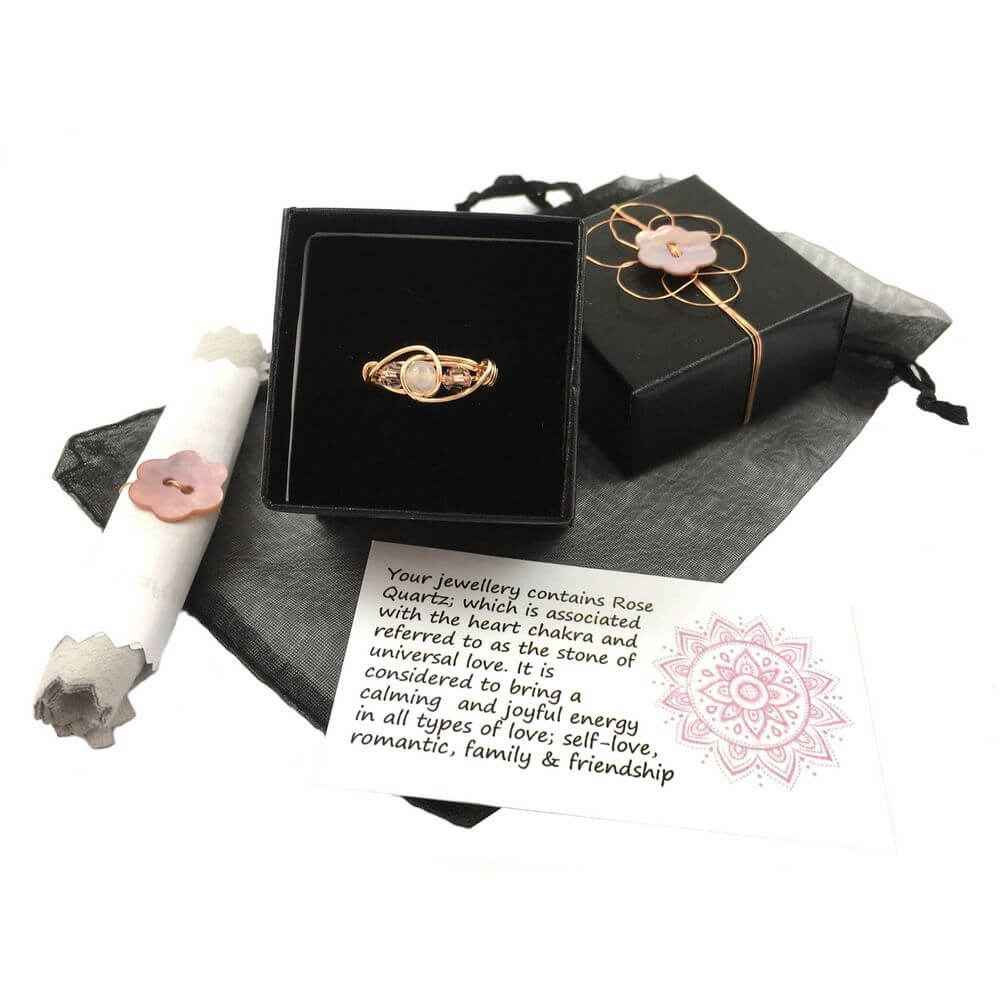 Rose Gold ring as gift for daughter