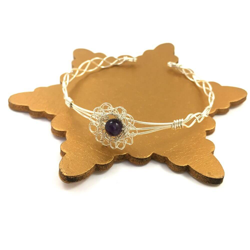 Amethyst Breeze Cuff