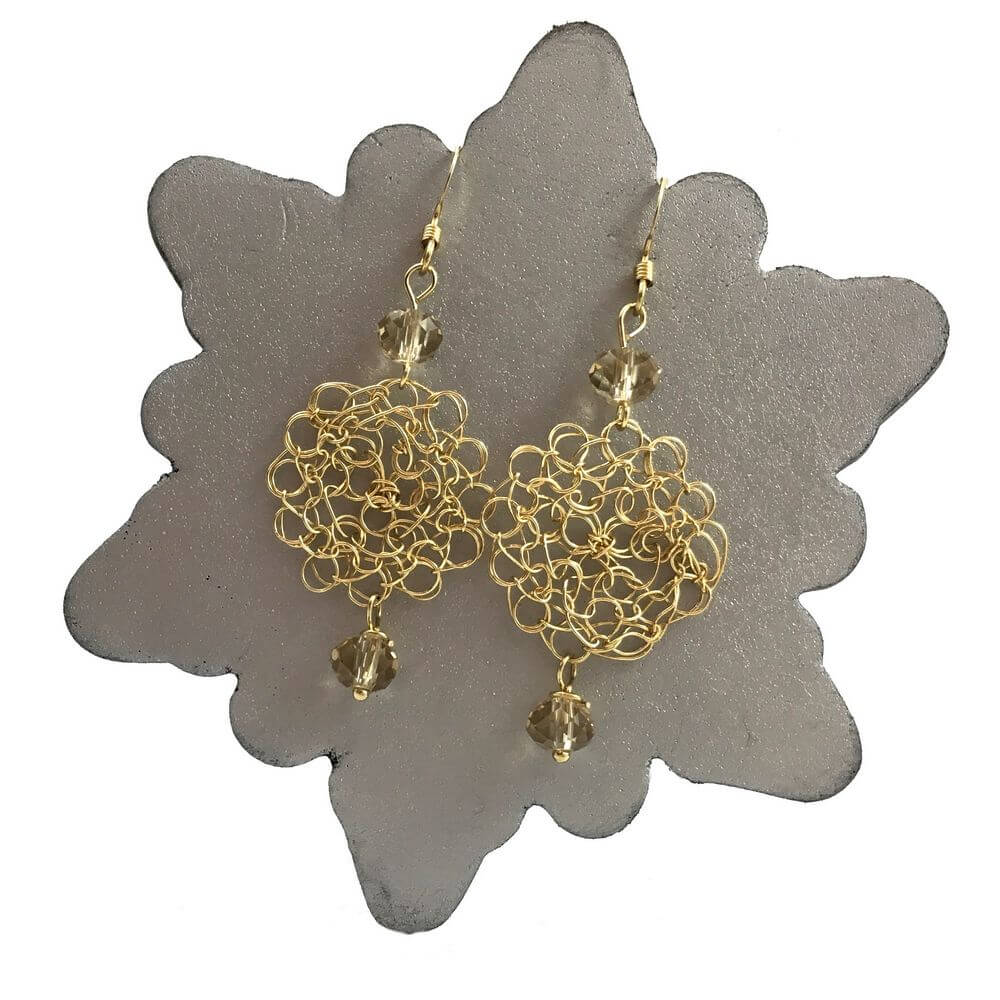 Gold LBD Cosmo Earrings