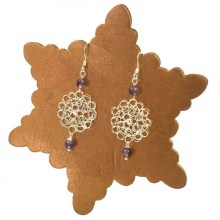 Amethyst Cosmo Earrings