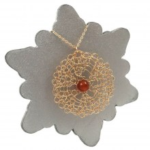 Carnelian Chi Necklace
