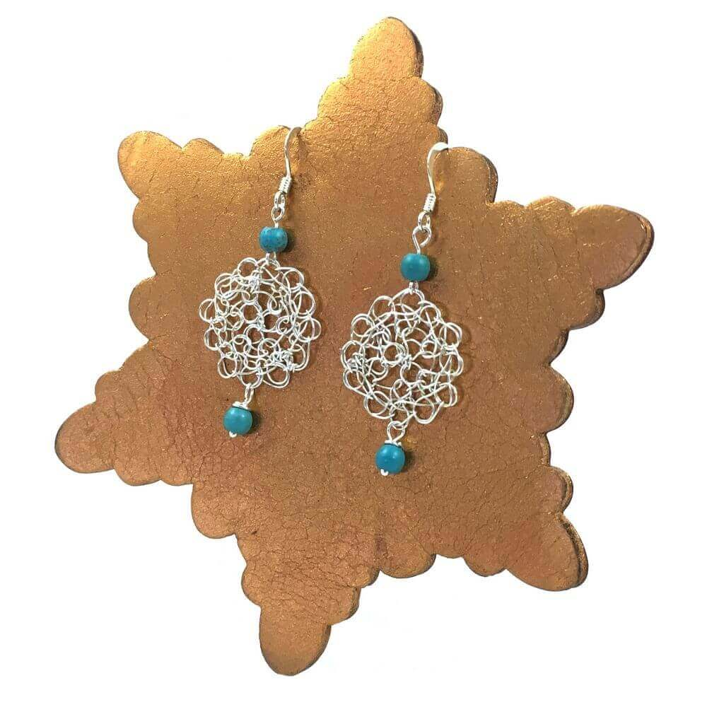 Turquoise Cosmo Earrings